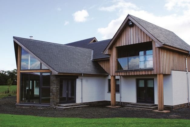 Timber Frame, Self Build Houses Images, Plans and Design Galleries Scotland & UK - Fleming Homes Timber Frame Scotland