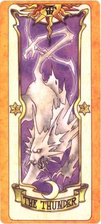 The Thunder - Clow Card