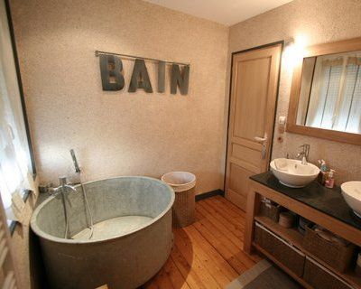 17 best images about salle de bain on pinterest search for Salle de bain baignoire