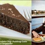 Chocolate Chocolate-Chip Pudding Cake Recipe by Dana Carpender