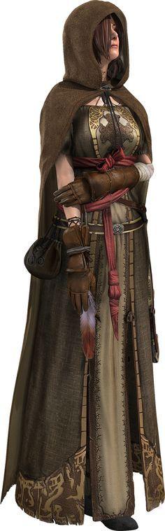 Emerald Herald (Official Dark Souls 2 render)