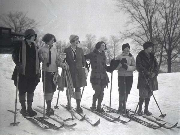Vintage Ski Ski And Ski Wear On Pinterest
