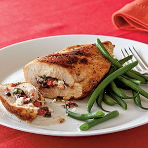 Mediterranean Stuffed Chicken Breasts: Mediterranean Stuffed, Clean Eating, Dinners Recipes, Mediterranean Dinners, Savory Recipes, Cooking Light, Stuffed Chicken Breasts, Under 300 Calories, Breast Recipes