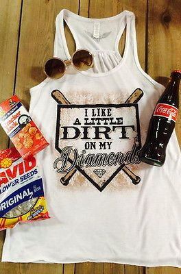 I love this I need this !!! Dirt on My Diamnds Baseball Tee.