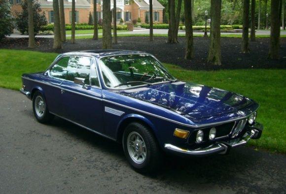 1970 BMW 3.0CS E9 Coupe