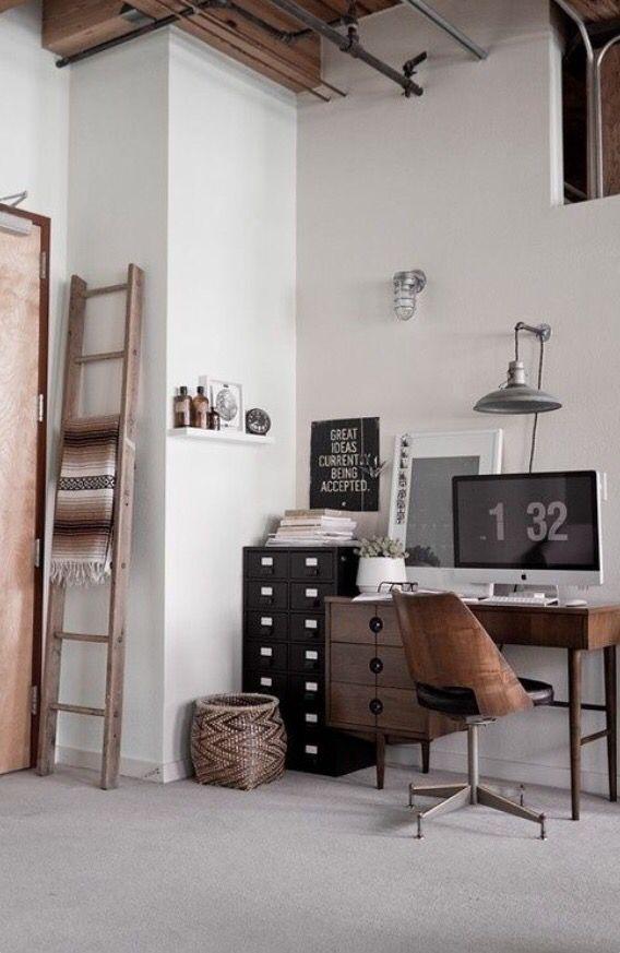 Kleine werkruimte… – StijlZone