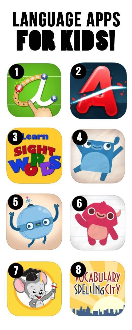 Best letter learning and reading apps for kids!  Get the tech job with your dream company through us recruitingforgood...