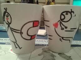 17 mejores ideas sobre tazas pintadas con rotulador en - Decorar tazas con rotulador permanente ...