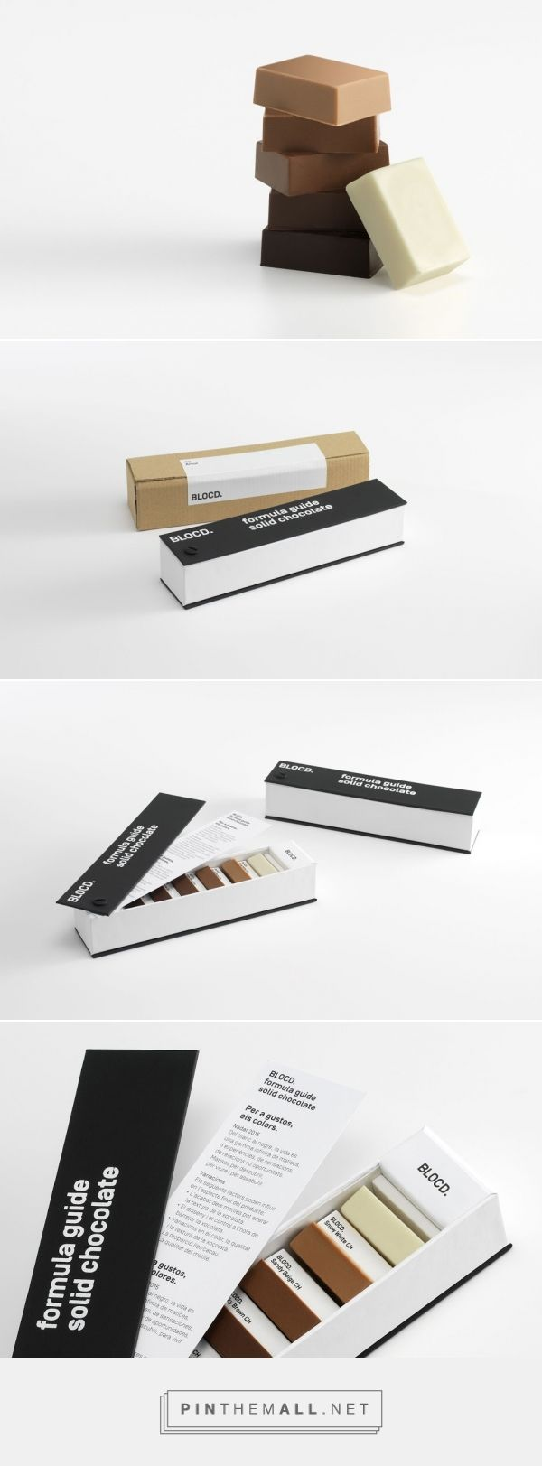 Chocolate Pantone concept packaging designed by BLOCD. (Spain) - http://www.packagingoftheworld.com/2016/02/chocolate-pantone-concept.html