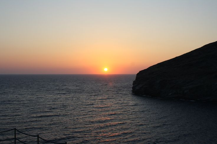 Sunrise Sineti Beach, Andros, Cyclades, Greece  www.androshome.com
