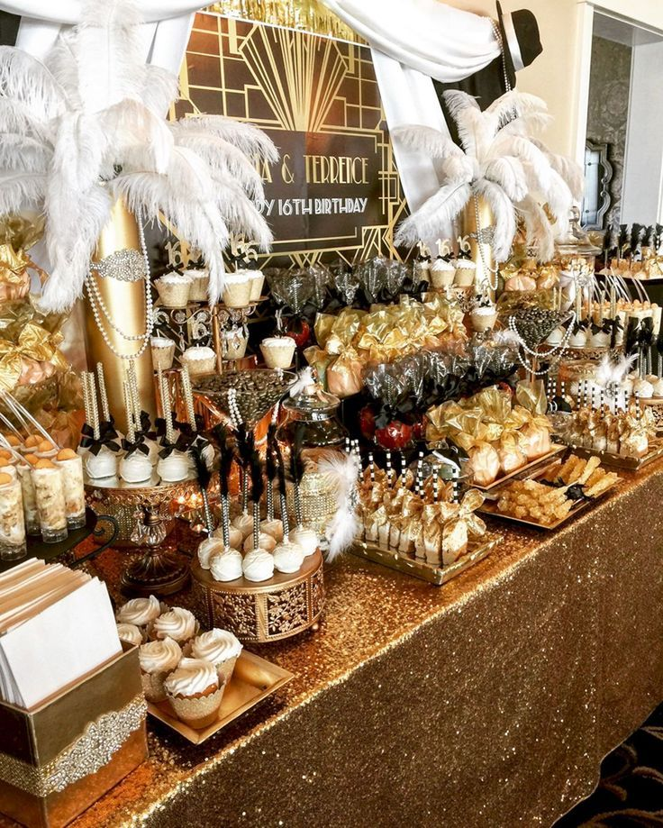 10 Wonderful Gatsby Wedding Party Ideas for Your Great Moment