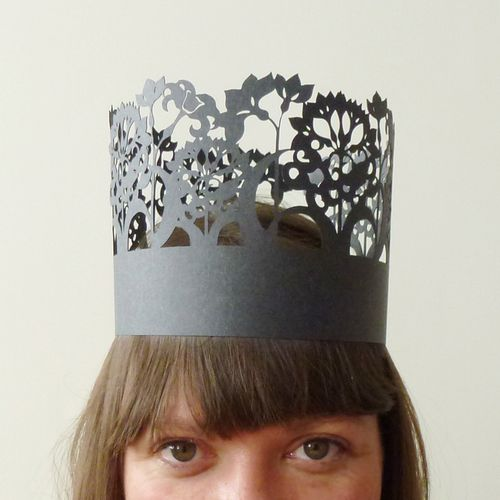 Party Crown by Madeline Trait