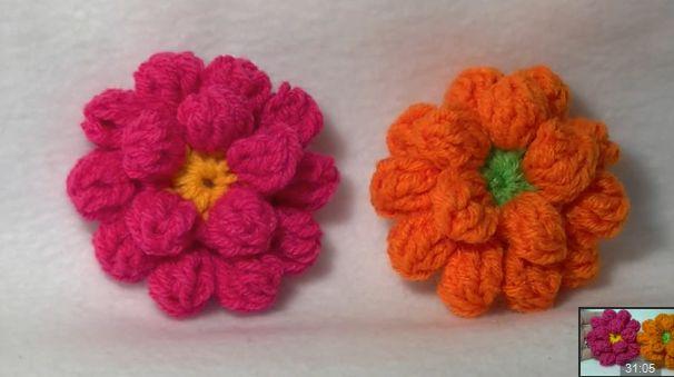 Come fare fiori a uncinetto di MyHobbyIsCrochet
