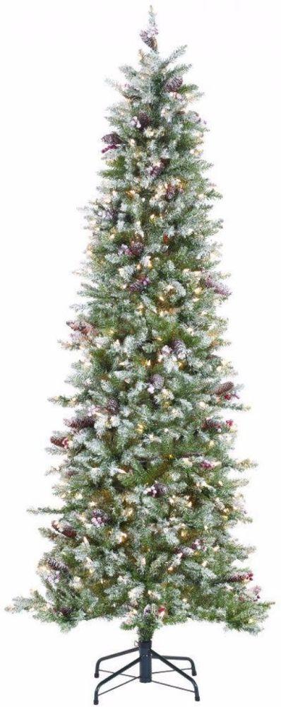 Pre-Lit Fir Pencil Strikingly Slim Artificial Christmas Tree Holiday Home Decor #ChristmasTree #Tree #ArtificialTree #Fir #FirPencil #Prelit #LEDLights #9feet #HolidayDecor #HomeDecor #Decor #ChristmasDecor #Holidays #Christmas