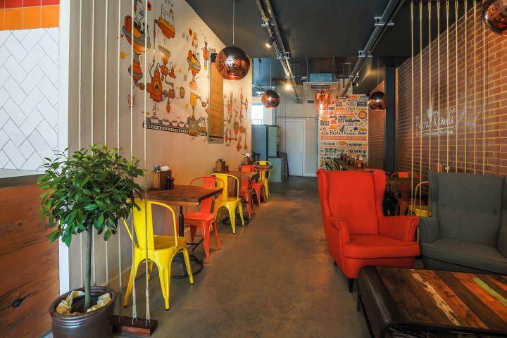 Pasta Remoli Restaurant by Design Clarity at Finsbury Park, London – UK