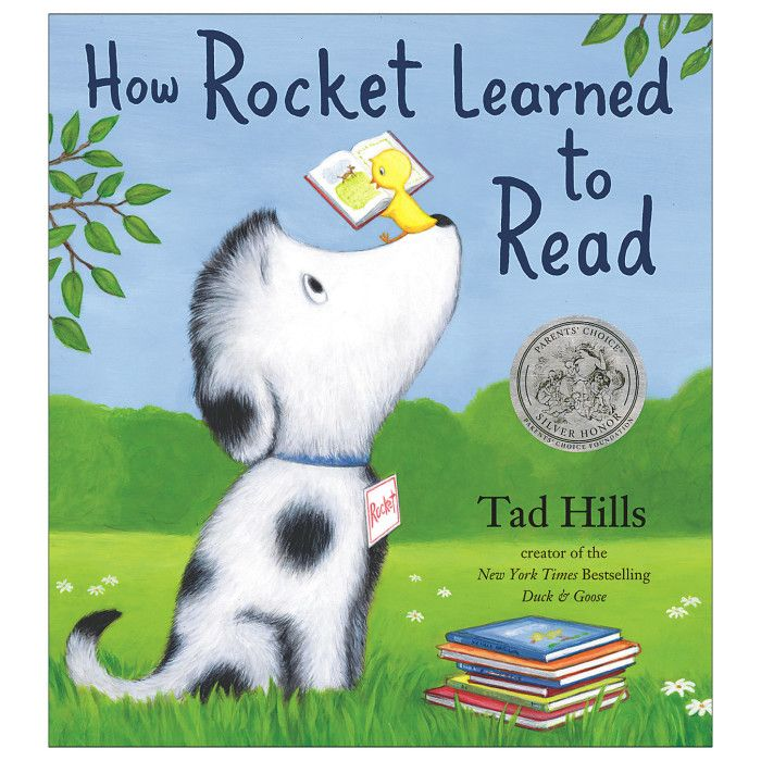Activity ideas for Grades 1 and 2 for the book How Rocket Learned to Read.