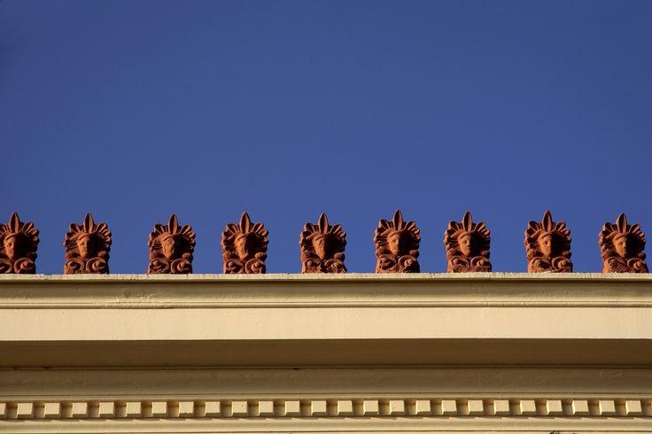 Archontiko Zouzoula roof detail