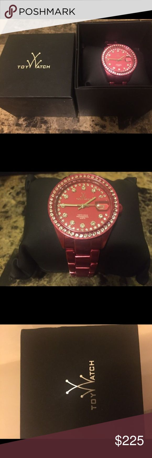 Pink ToyWatch Hot Pink ToyWatch. Brand new. Never worn. Perfect condition. ToyWatch Accessories Watches