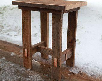 Barn Wood Pub Table by TheReclaimedNation on Etsy