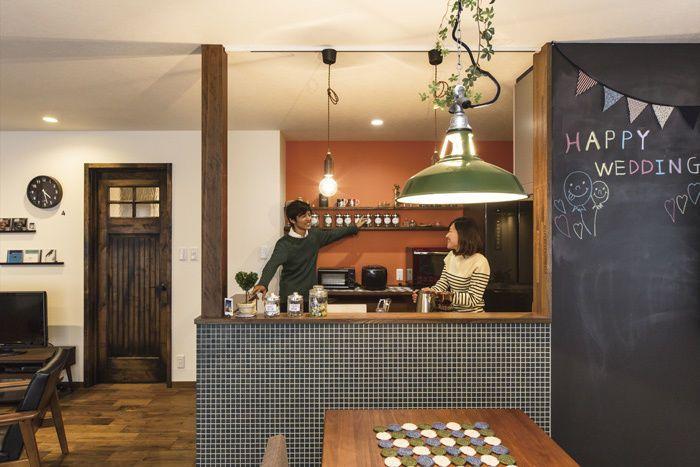 スケルトンリノベーション×耐震補強で新婚世帯のカフェ風空間に | 戸建リノベーション事例 | モアリビング(株式会社桶庄) | HOUSY