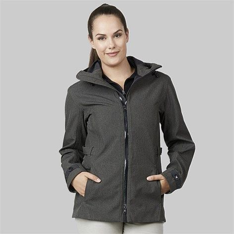 Swanndri Women| Outdoors Everyday | - Swanndri Women's Dusky Micro Tweed Jacket