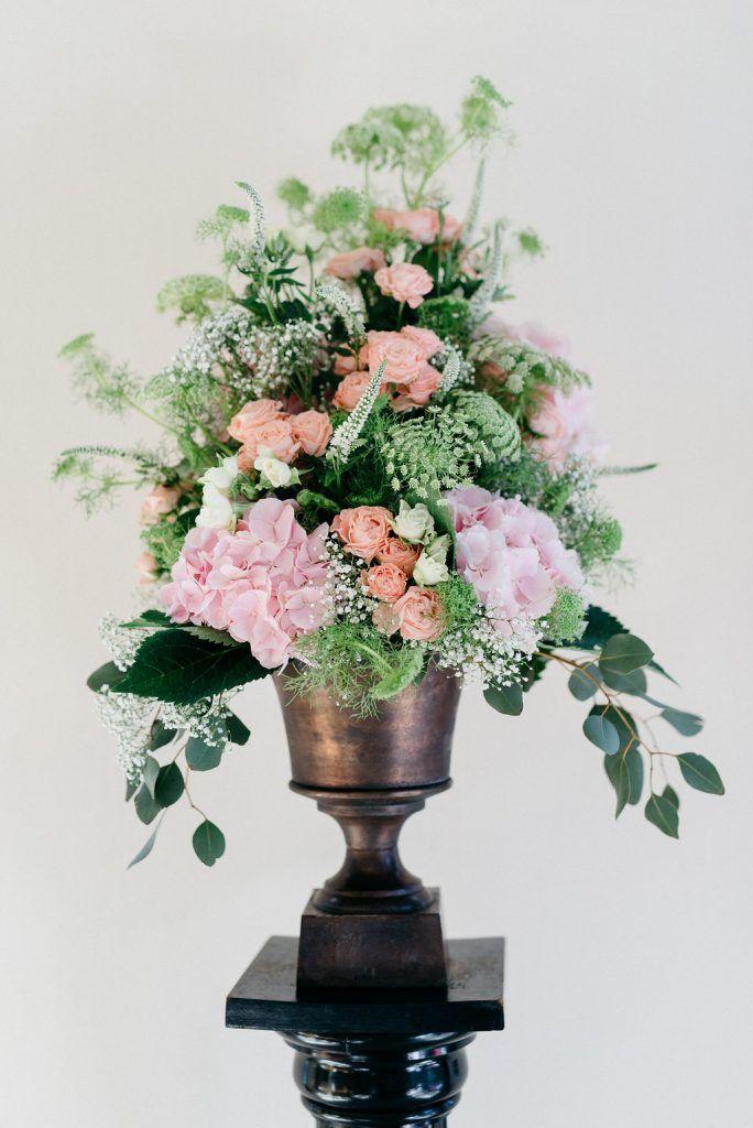 Hochzeitsblumen Apricot Rosa Hochzeit Pinterest Wedding Und