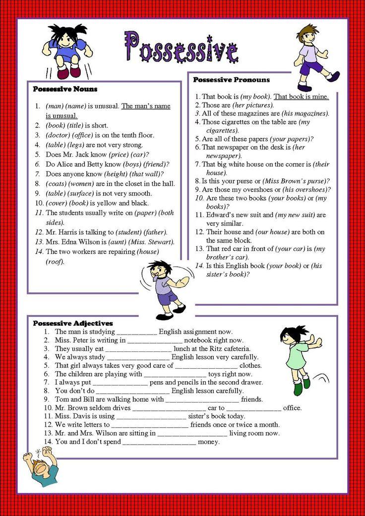 1000 Ideas About Pronoun Worksheets On Pinterest