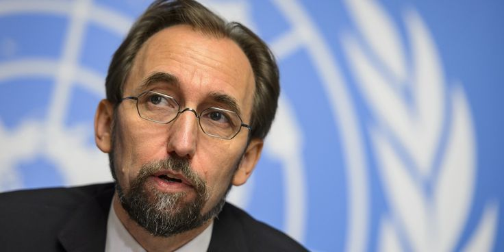 Prince Zeid Ra'ad Zeid Al-Hussein is the current United Nations High Commissioner for Human Rights