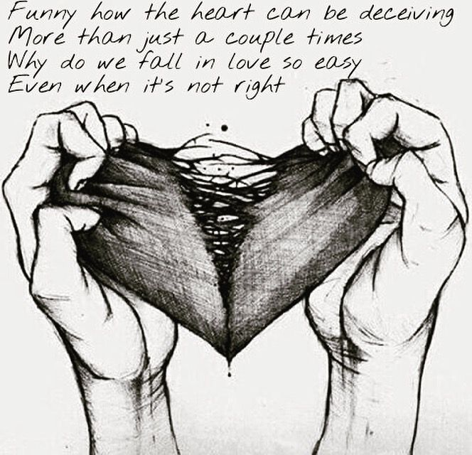 Pin By Nono On Words With Images Broken Heart Drawings Broken