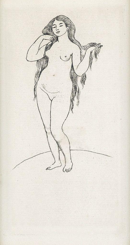 PIERRE-AUGUSTE RENOIR Femme Nue.1891