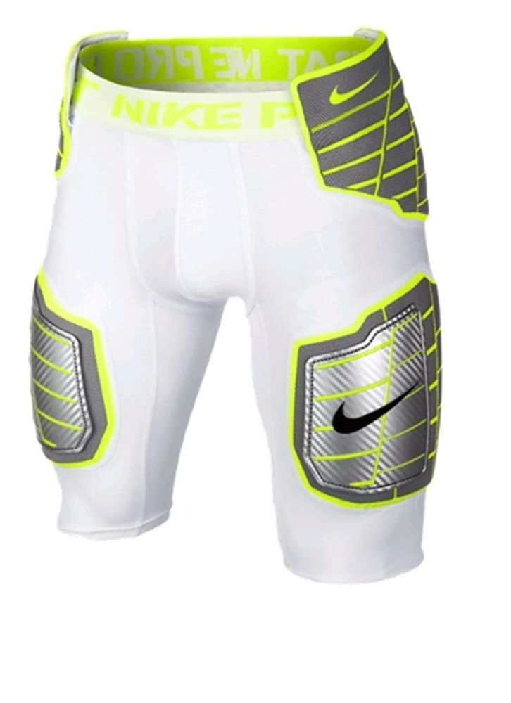 Nike Pro Hyperstrong 3/4 Men's Football Pants 584387 101 rugby football nfl afl nrl