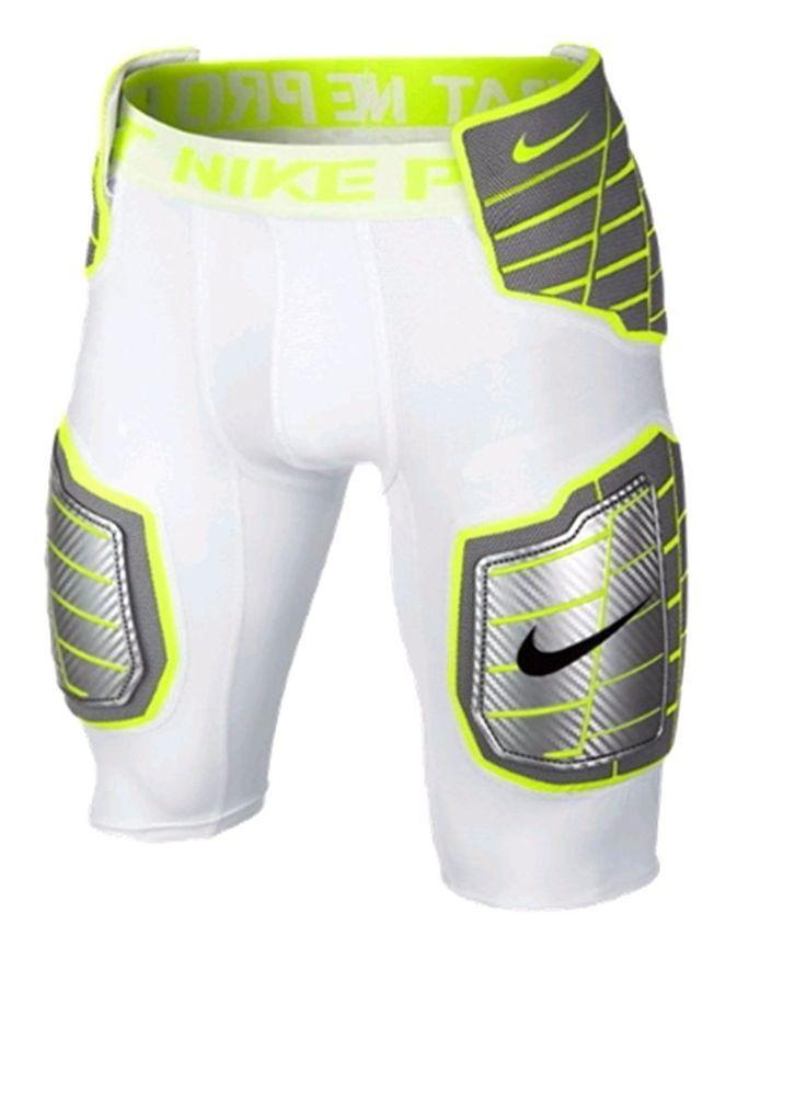 Nike Pro Hyperstrong 3/4 Men's Football Pants 584387 101 rugby football nfl afl nrl