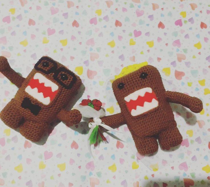 Marry me #domo #couple #weekend #happyweekend #amigurumi #crochet #ami #crochetdoll #bonekarajut #rajutan #boneka #rajut #surabayabazzar #onlineshop #saturday #satnite #movie #crochet #amigurumi #crochetmonkey #boneka #rajutan #bonekarajut #rajut #bagcharm #keychain #souvenir #project #openorder #custom #doll #amigurumiartist #followme #crochetaddict #online #onlineshop #bonekarajutsurabaa by crochethobby