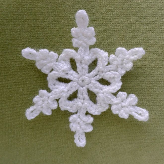 Those of you who have been following this blog for a long time may remember when I collected a number of photographs of actual snowflakes and created crochet versions for seven of them. Patterns he…
