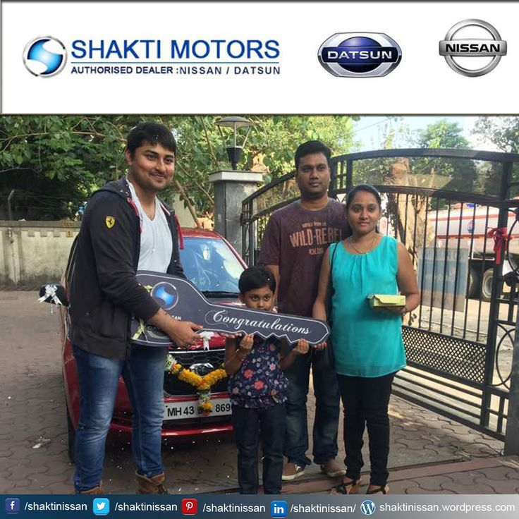 """Our Proud Customer Congratulations """"Sabina Gomes"""" for getting her new #DATSUN Car. Know more about Shakti Nissan : http://goo.gl/Cj4lNH  #DatsunCarDelivery #NissanCar #Sunny #Terrano"""