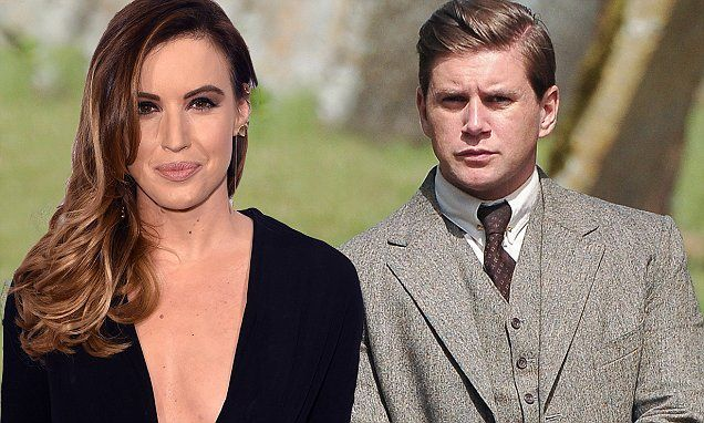 Downton Abbey's Allen Leech and Charlie Webster split over of careers