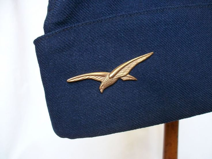 Smart Cap French Airforce & Insignia / Calot 1er Classe Armee De L Air