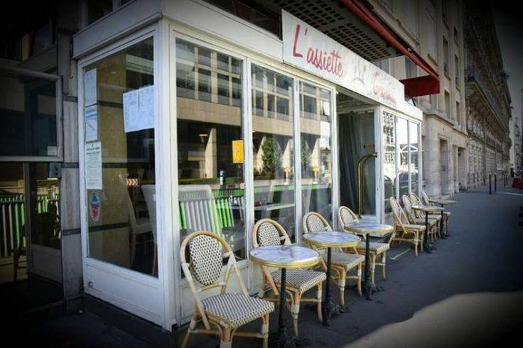L'Assiette Gourmande - Paris 17 | MICHELIN Restaurants.  Not too far from bois de Boulougne, monceau.  Good reviews