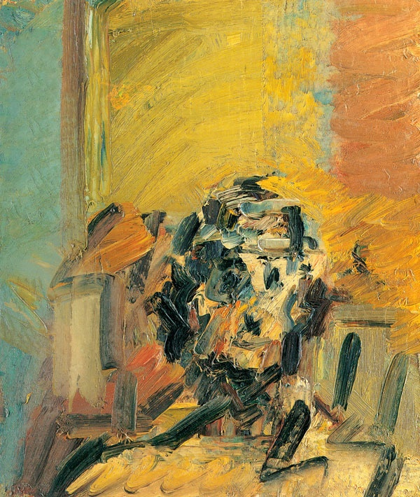 #Frank Auerbach - Head of Ruth Bromberg