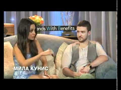 Mila Kunis Speaking Russian in Moscow - YouTube