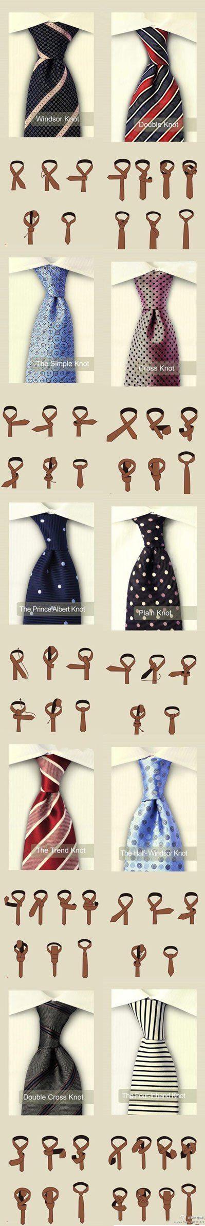 Different ways to tie a necktie (men fashion) | SMASHINBEAUTY