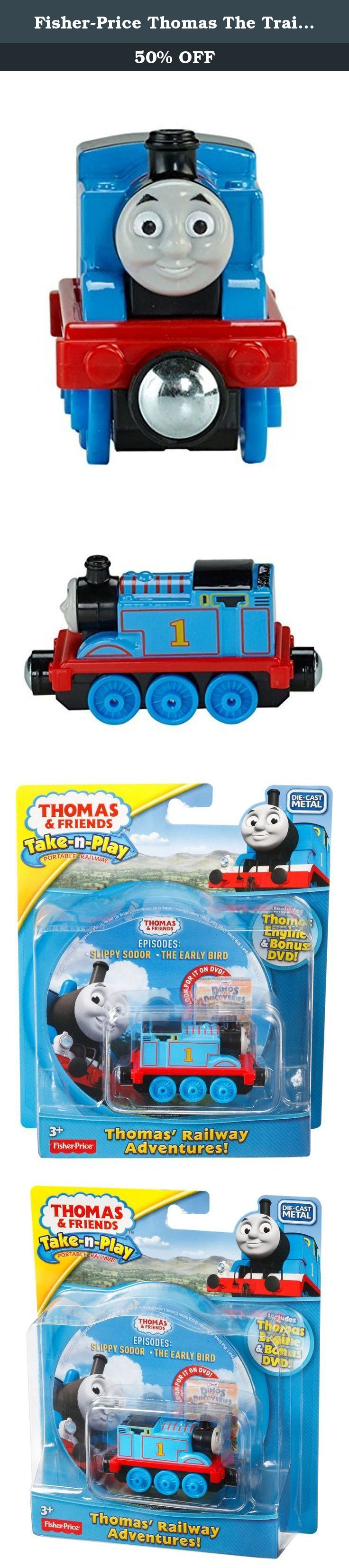 Fisher-Price Thomas The Train Take-N-Play Railway Stories. A special giftset featuring a small Take-n-Play Thomas die-cast engine and a Thomas & Friends DVD featuring two of the most action-packed, fun-filled episodes from Thomas' popular TV show! Engine can be used with any Take-n-Play portable playset (each sold separately and subject to availability).