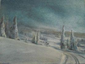 Akvarellkurs med Ivar Øksendal - lær å måle med akvarell.