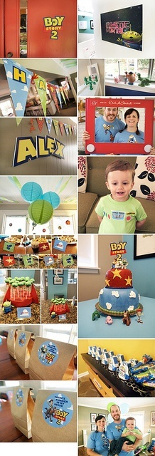 Boy Story 2 - Toy Story themed 2nd birthday party