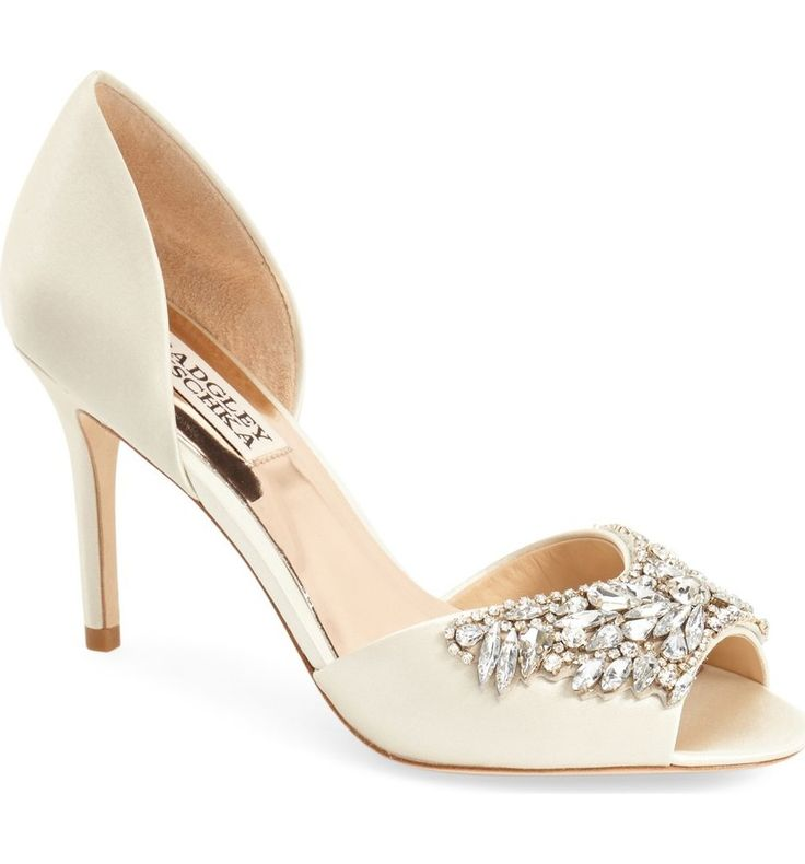 Main Image - Badgley Mischka 'Candance' Crystal Embellished d'Orsay Pump (Women)