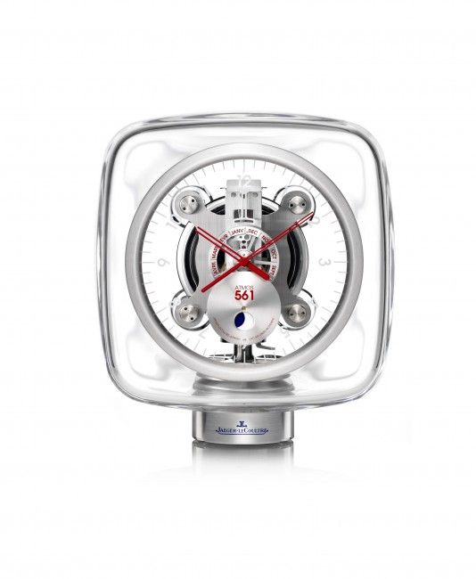 Jaeger-LeCoultre Atmos 561 by Marc Newson customized by Jonathan Ive and Marc Newson