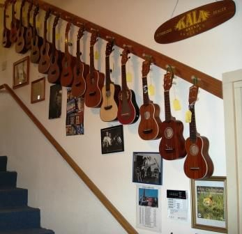 I need to buy more ukuleles in order to accomplish this look!