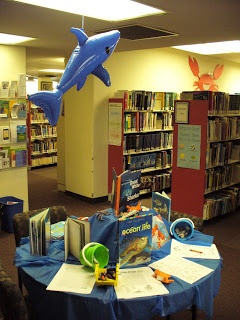 Library Displays: World Oceans Day - June 8th Repinned by sailorstales.wordpress.com See my Oceans of the World Pinterest Board as well!