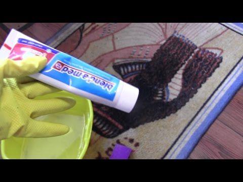 Как почистить ОЧЕНЬ ГРЯЗНЫЙ  ковер - YouTube
