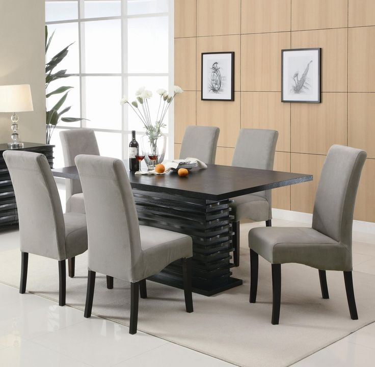 Mesmerizing Black Dining Table Set